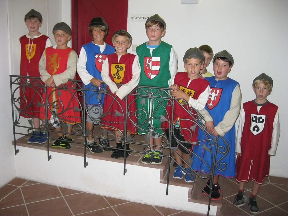 Die Ritter der Klasse 4