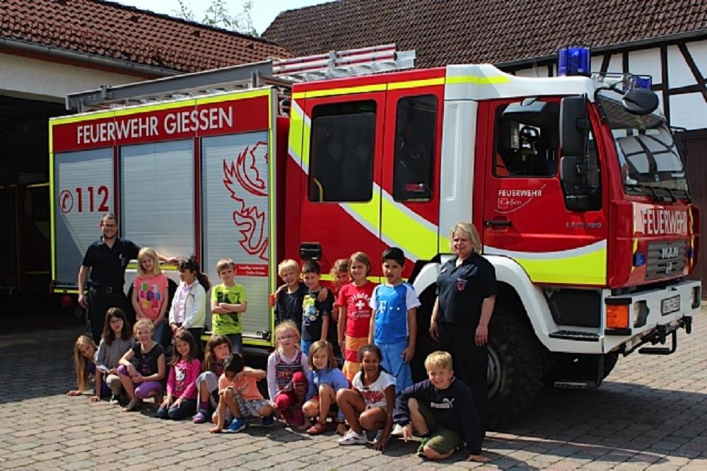 Klasse 2 Feuerwehr 11-07-14